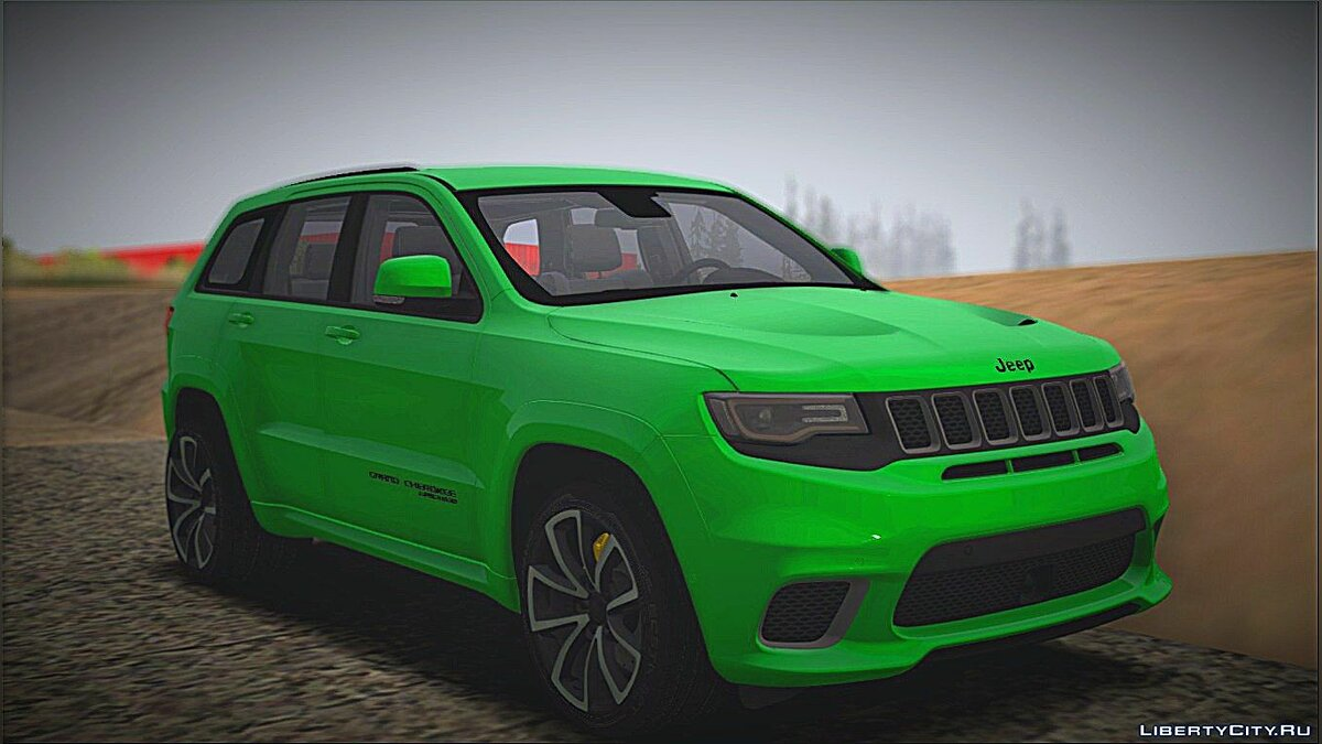 Jeep car Jeep Grand Cherokee SRT for GTA San Andreas