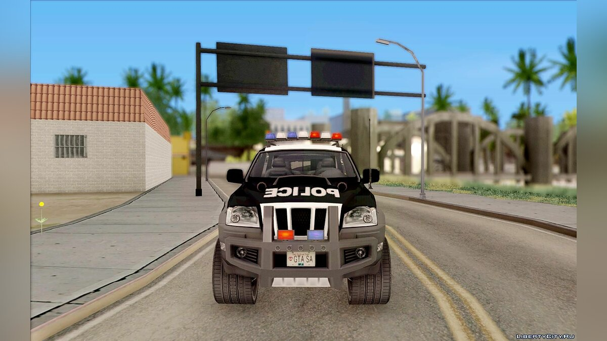 Jeep car Jeep Grand Cherokee Police K-9 for GTA San Andreas