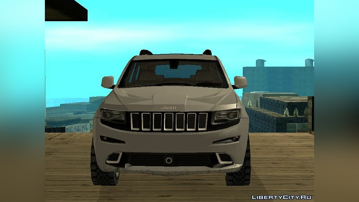 Jeep car Jeep Grand Cherokee SRT 2014 SA Style for GTA San Andreas