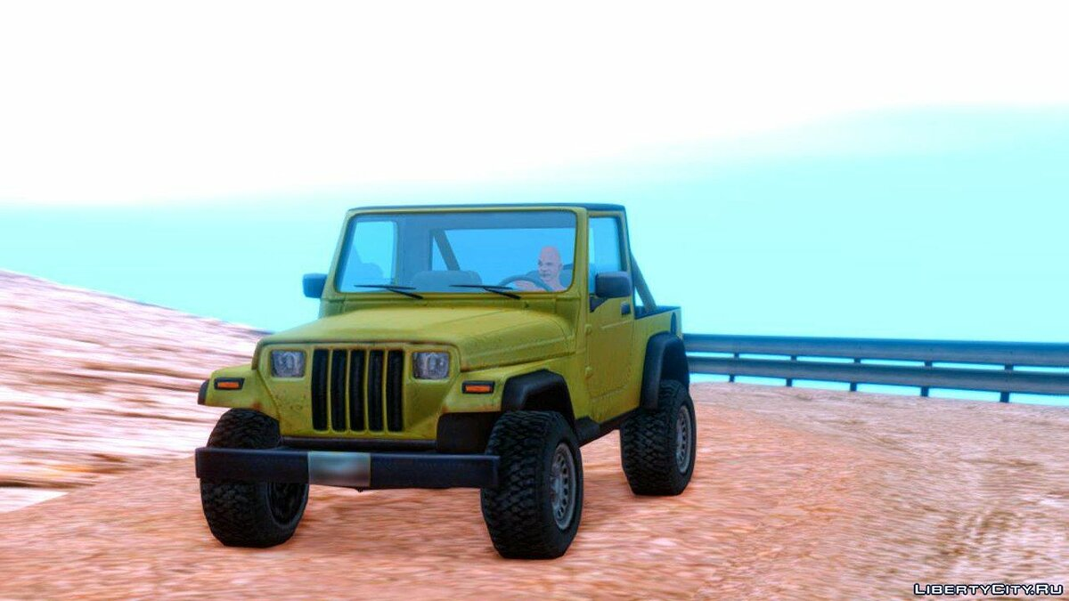 Jeep car Jeep Wrangler 1989 [LQ] for GTA San Andreas