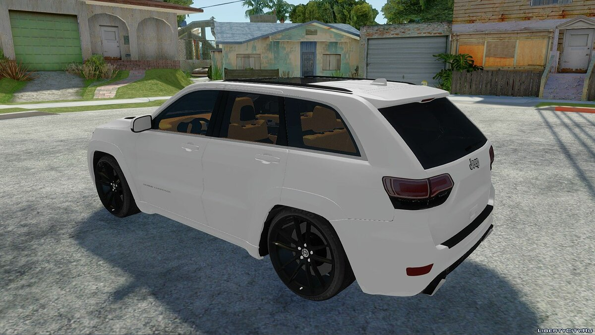 Jeep car Jeep Grand Cherokee SRT8 for GTA San Andreas