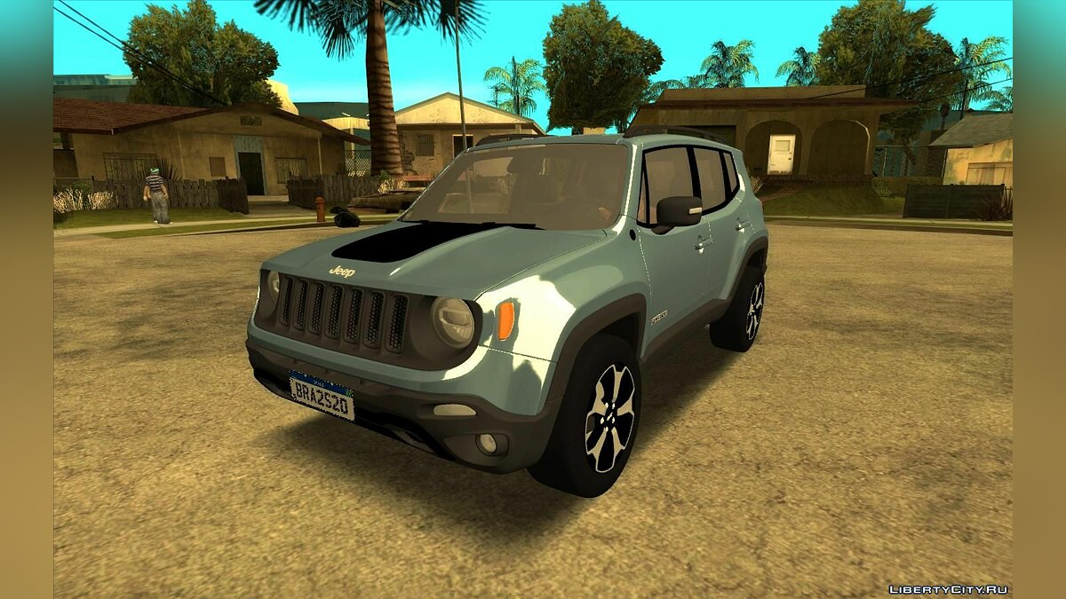 Jeep car Jeep Renegade Trailhawk 2020 for GTA San Andreas