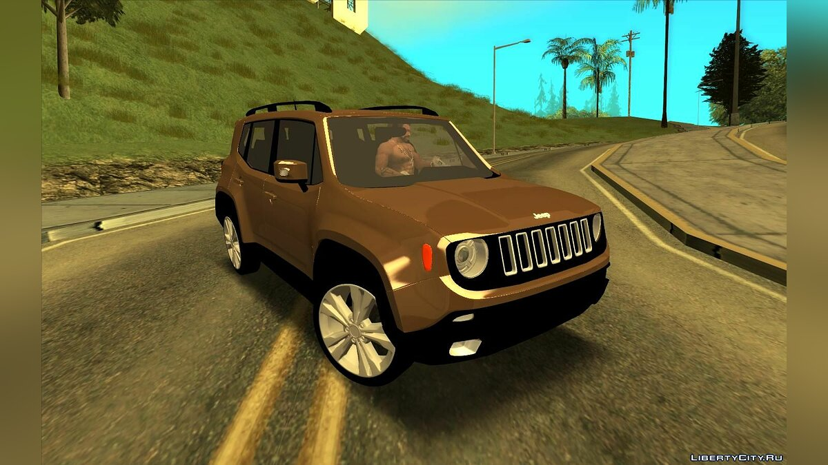 Jeep car Jeep renegade for GTA San Andreas