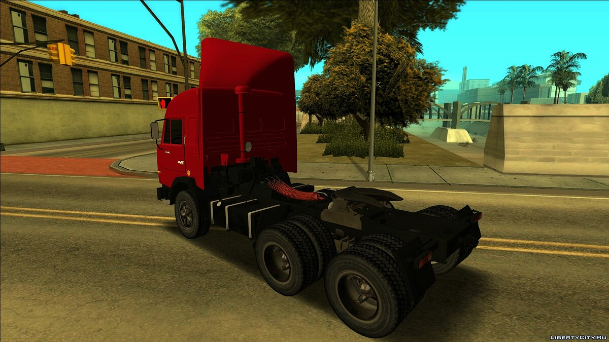 KamAZ car KAMAZ 54115 for GTA San Andreas