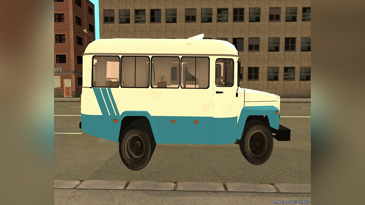 KAvZ car КАвЗ 3976 for GTA San Andreas