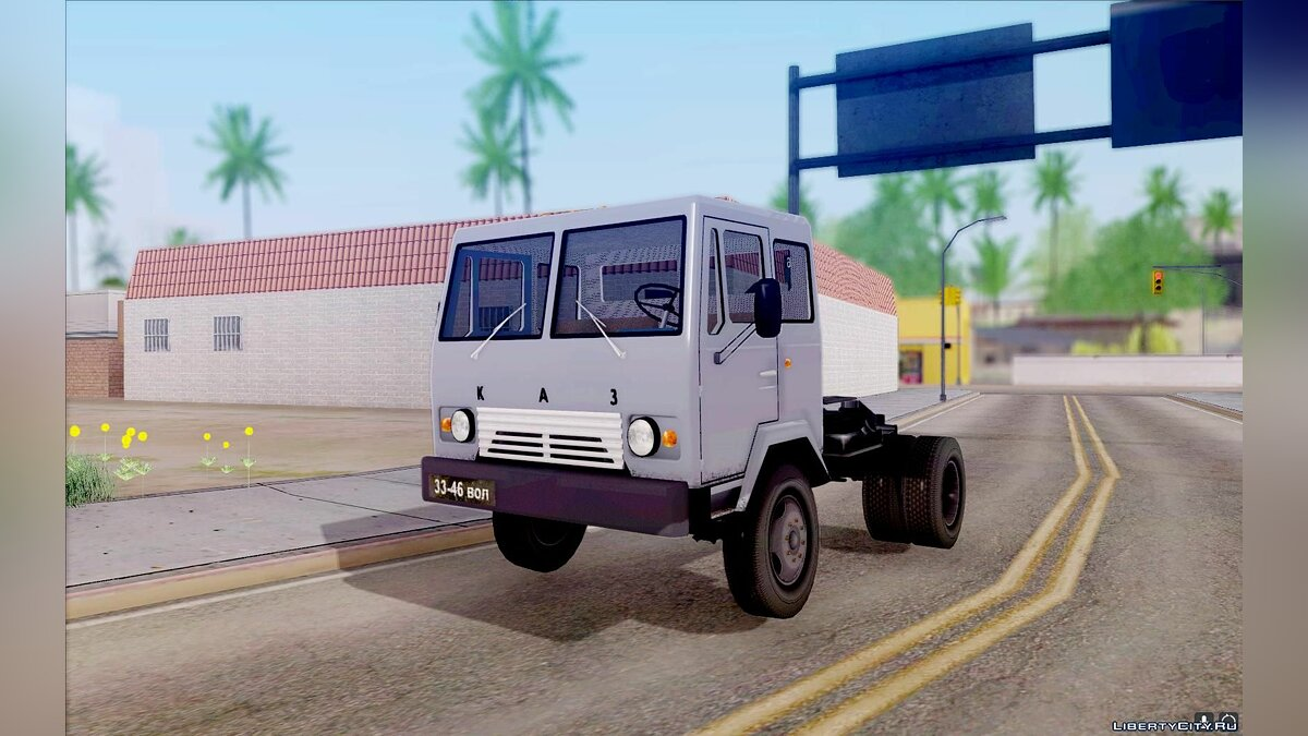 KAZ car KAZ-608V for GTA San Andreas