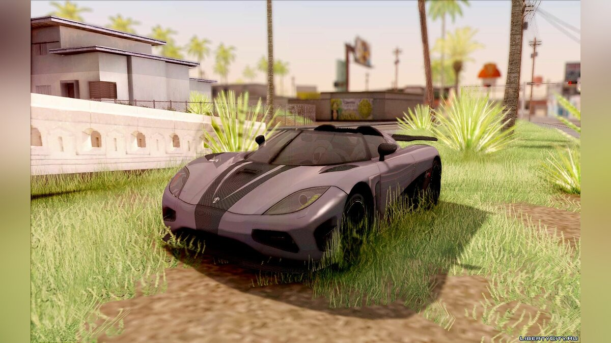Koenigsegg car Koenigsegg Agera R for GTA San Andreas