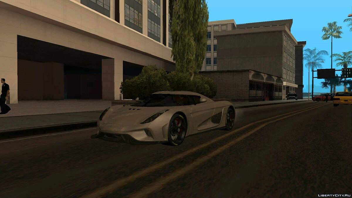 Koenigsegg car 2015 Koenigsegg Regera of Real Racing 3 for GTA San Andreas