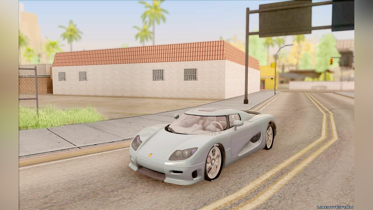 Koenigsegg car Koenigsegg CC8S for GTA San Andreas