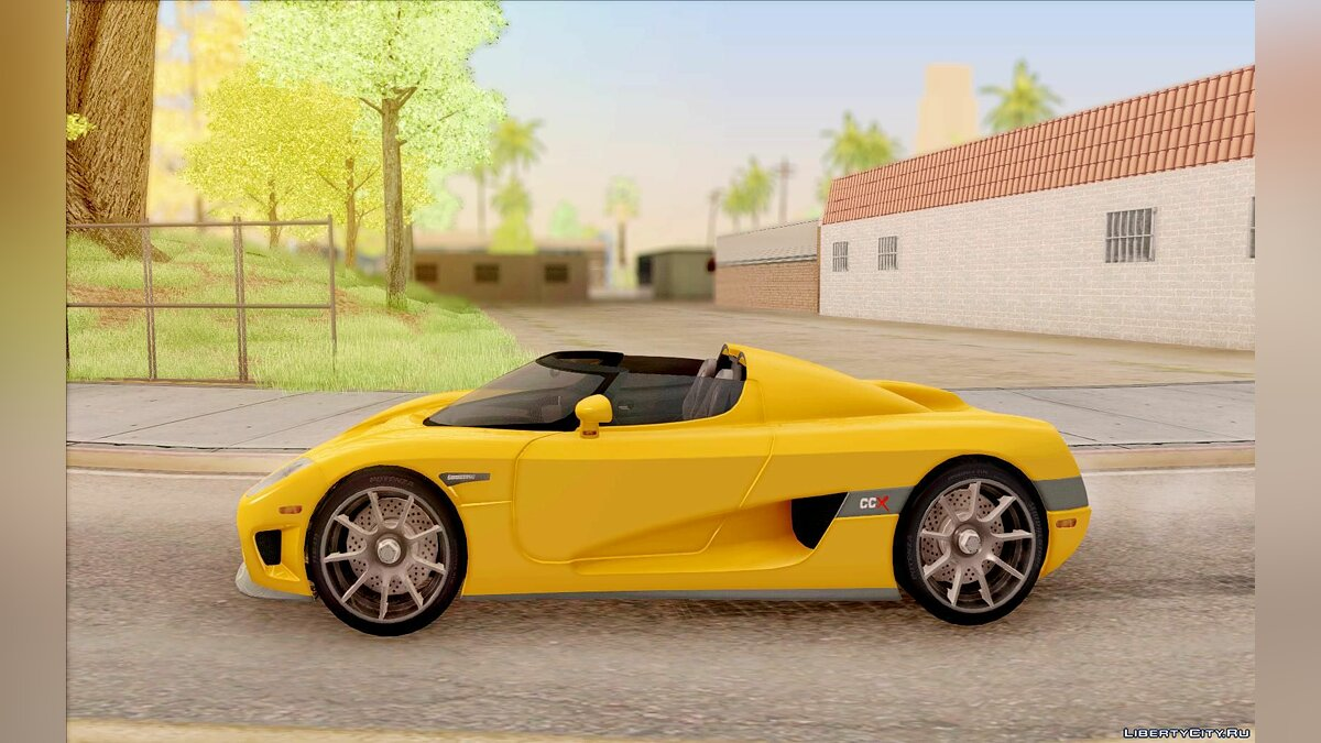 Koenigsegg car Koenigsegg CCX 2006 for GTA San Andreas