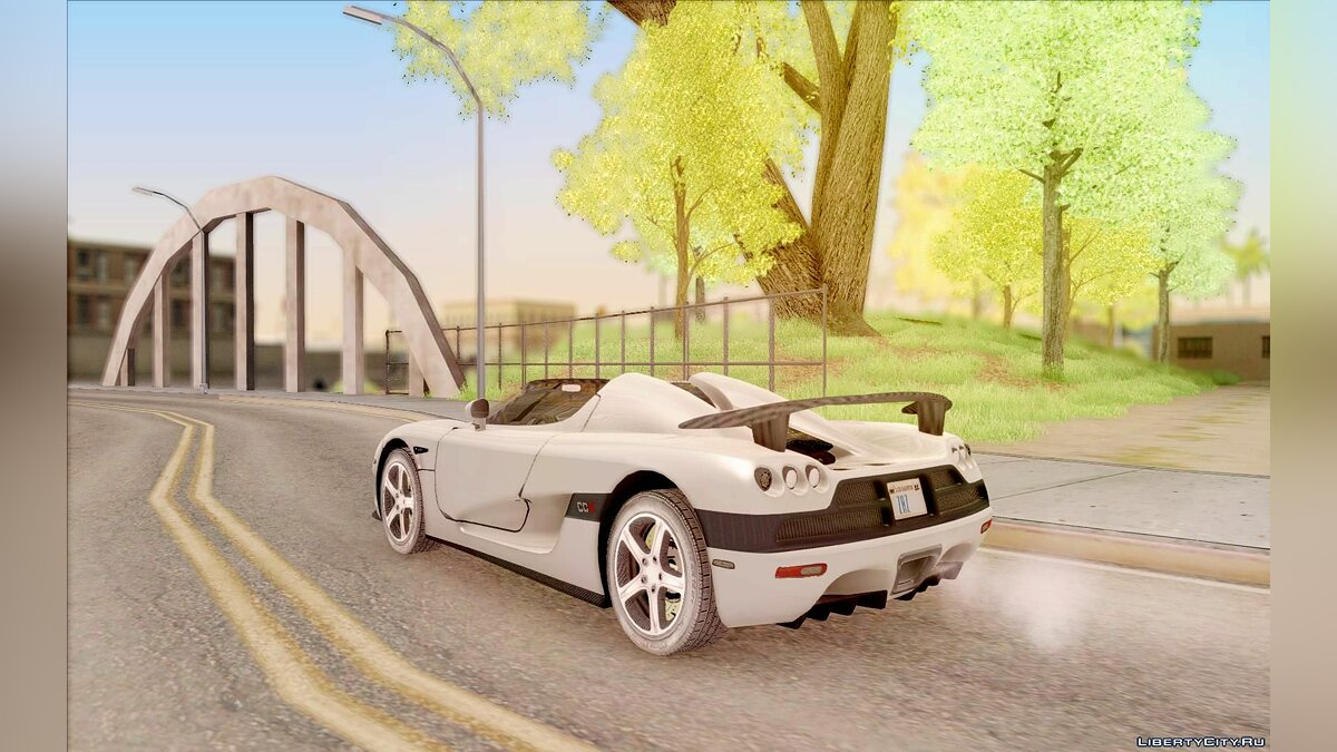 Koenigsegg car Koenigsegg CCX for GTA San Andreas