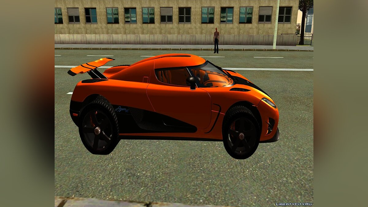 Koenigsegg car Koenigsegg Agera R Racer for GTA San Andreas