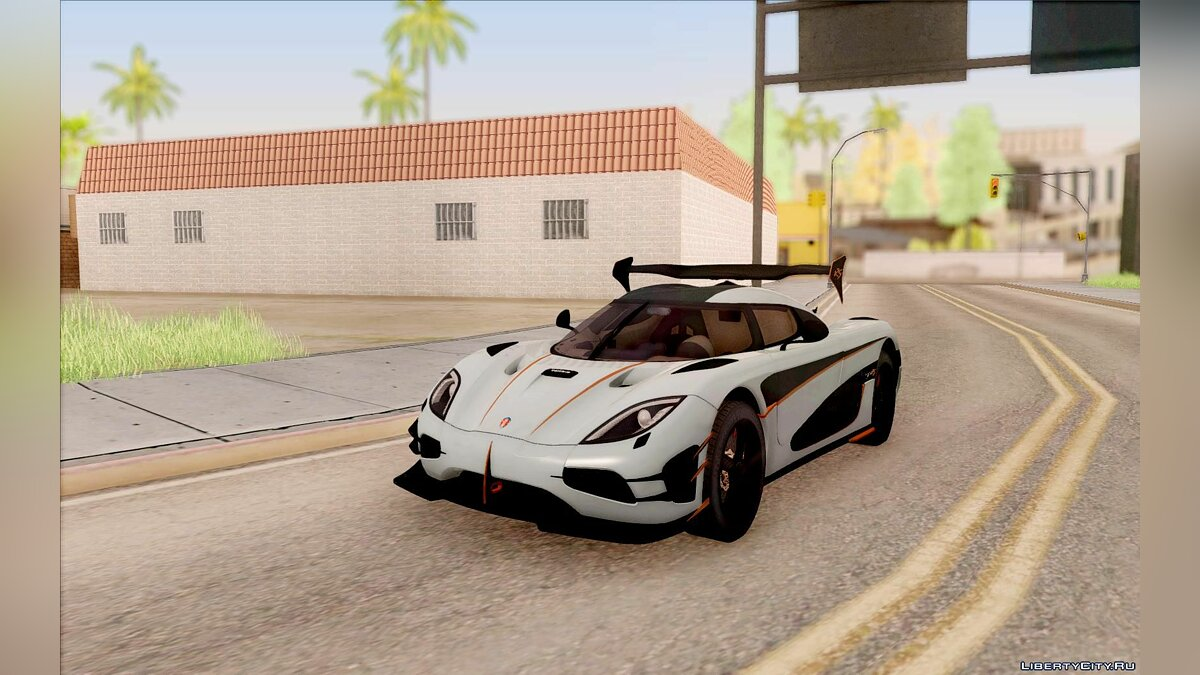 Koenigsegg car Koenigsegg Agera RS for GTA San Andreas