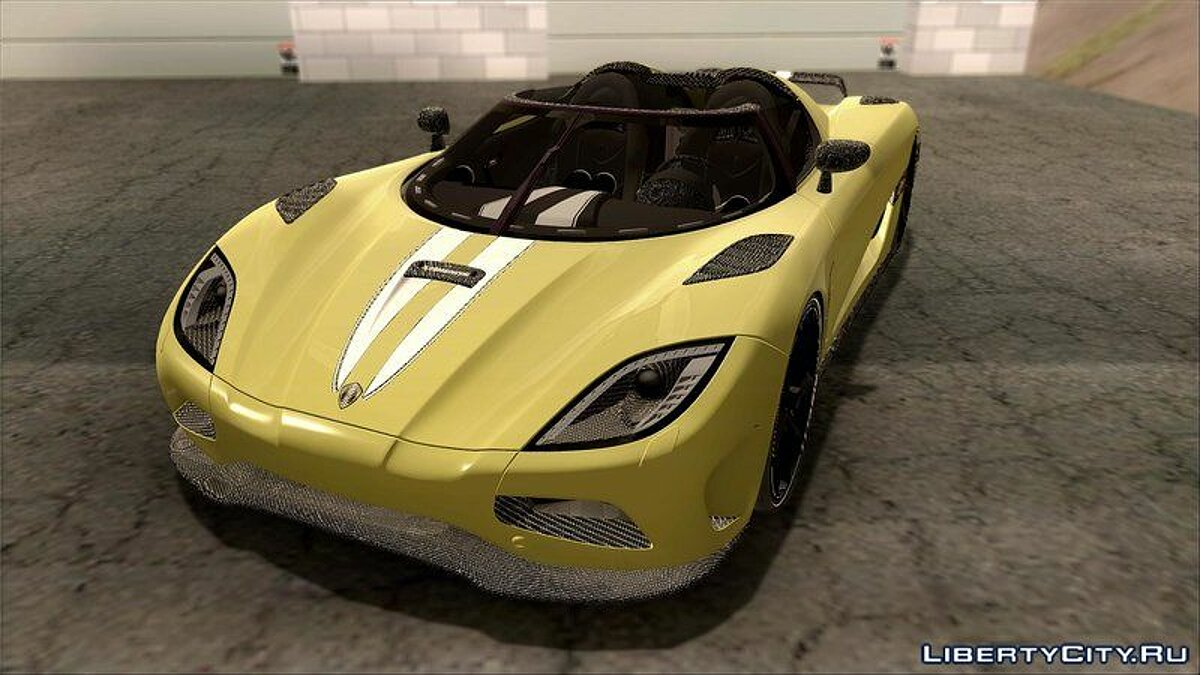 Koenigsegg car Koenigsegg Agera for GTA San Andreas