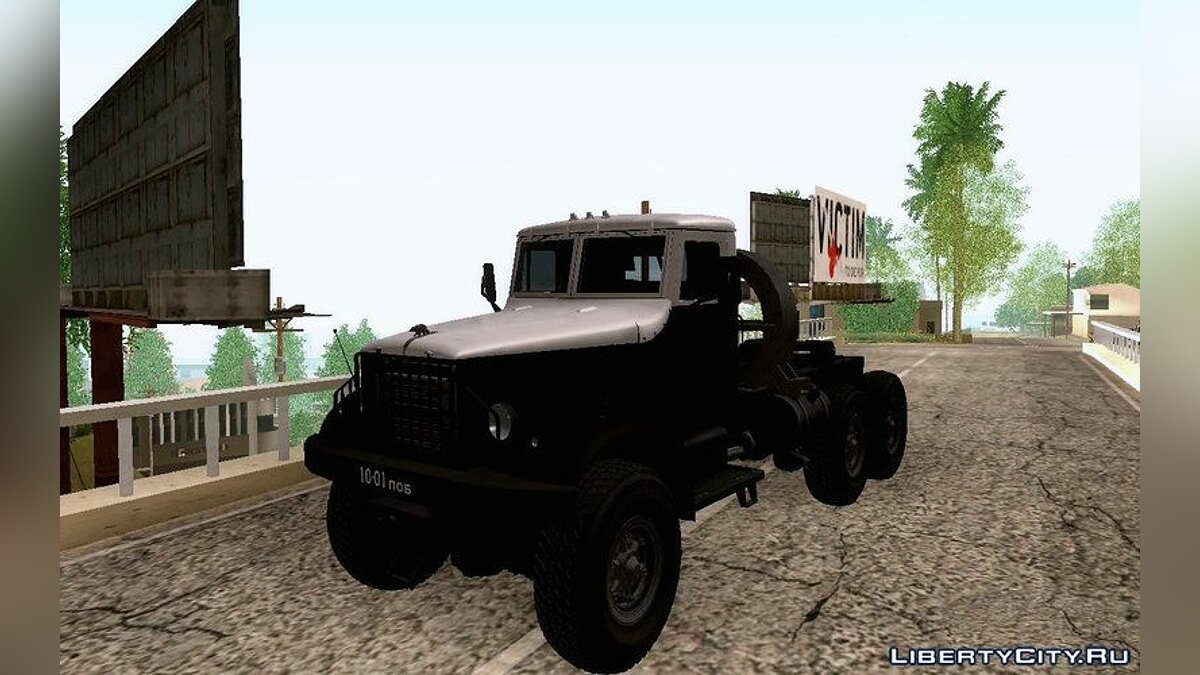 KrAZ car YAZ-214 (KrAZ-214) for GTA San Andreas