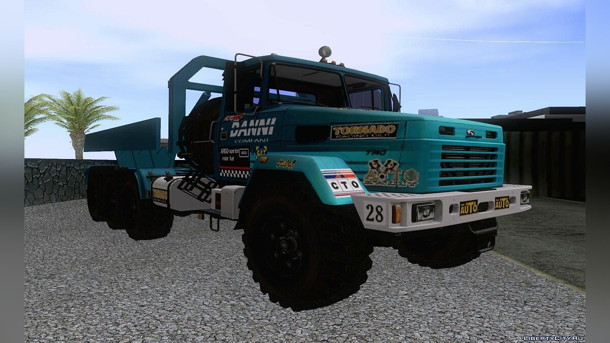 KrAZ car KrAZ 7140H6 Trial for GTA San Andreas