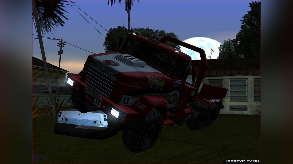 KrAZ car KrAZ 6322 Trial for GTA San Andreas