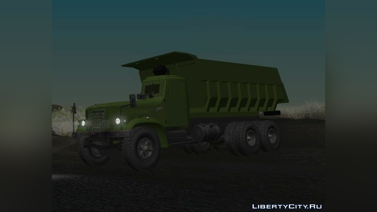KrAZ car KrAZ 256B1-030 (ChNPP special version) for GTA San Andreas