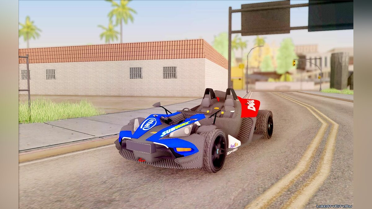 KTM car KTM X-Bow 2013 for GTA San Andreas