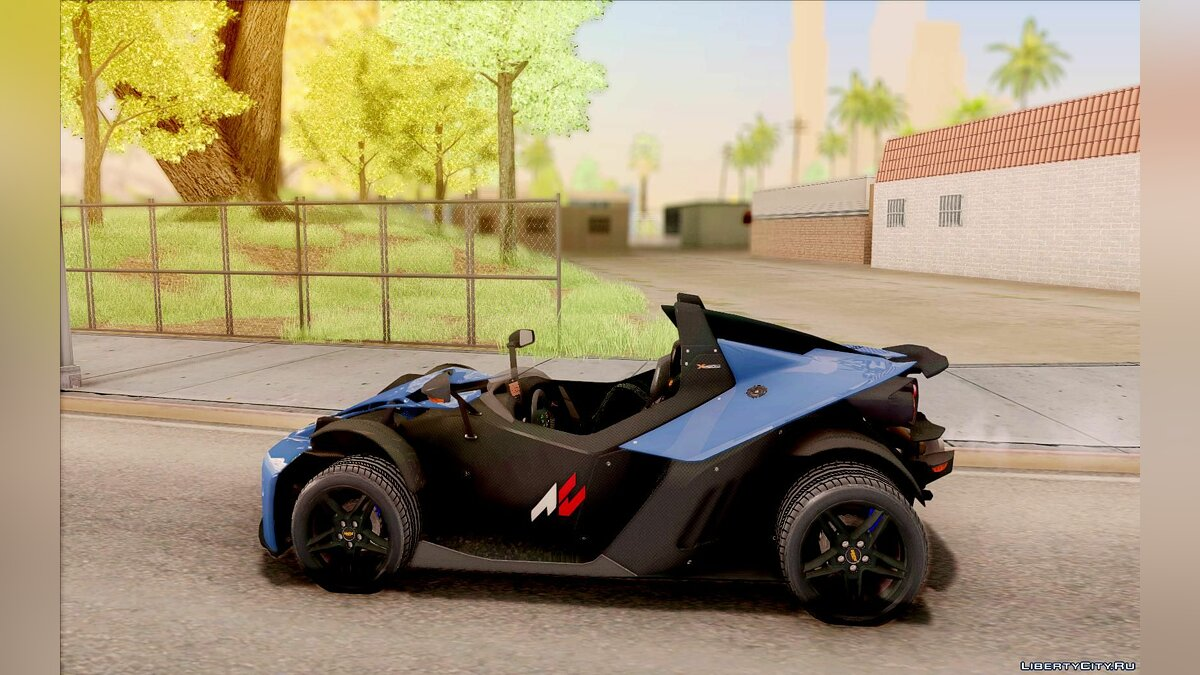 KTM car KTM X-BOW R 2011 for GTA San Andreas
