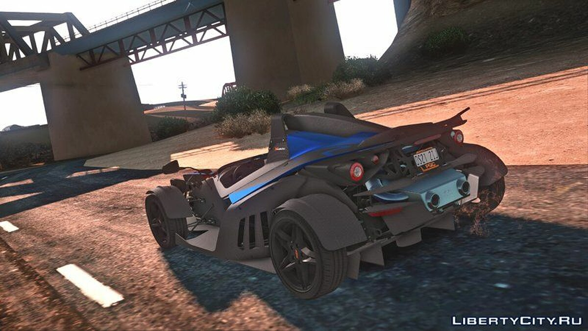 KTM car KTM X-Bow R for GTA San Andreas