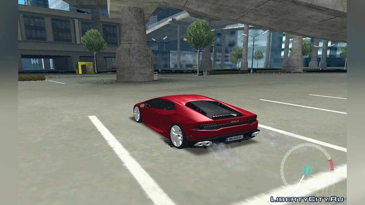 Lamborghini car Lamborghini Huracan LP-700 for GTA San Andreas