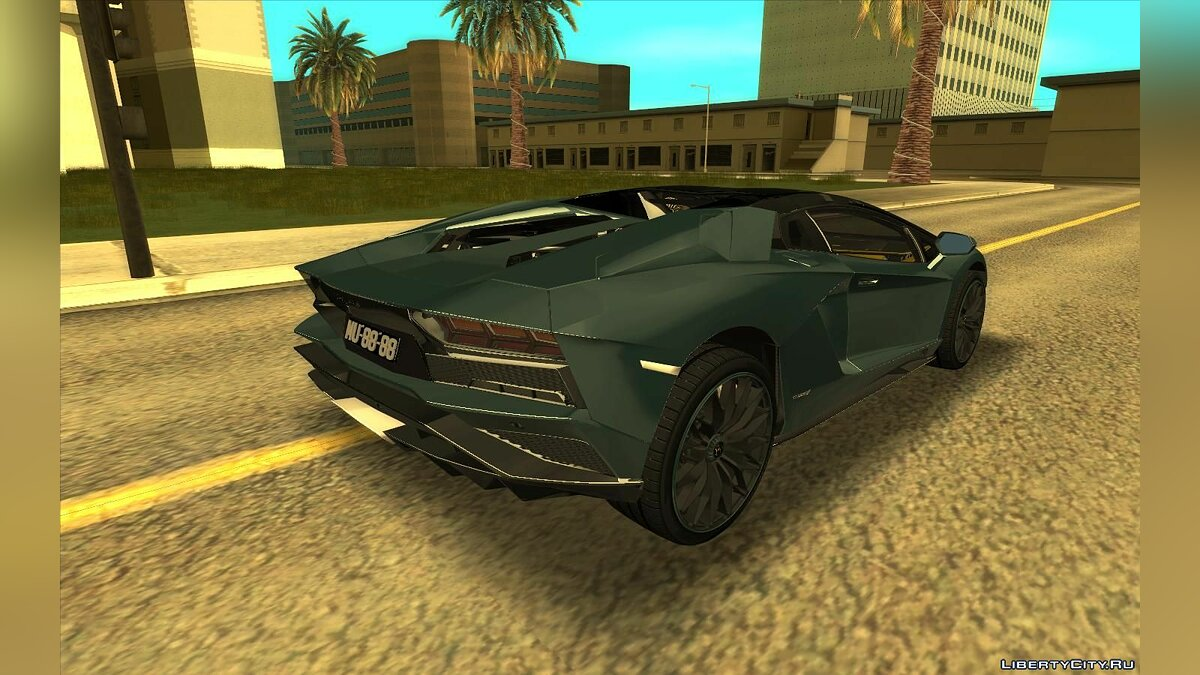 Lamborghini car Lamborghini Aventador S Roadster for GTA San Andreas