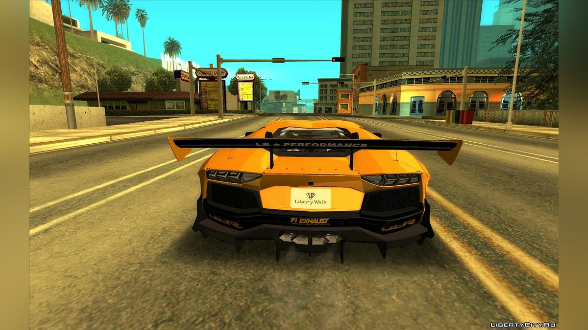 Lamborghini car Lamborghini Aventador LP700-4 LB Limited Edition for GTA San Andreas