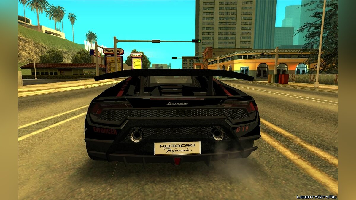 Lamborghini car Lamborghini Huracan Performante for GTA San Andreas