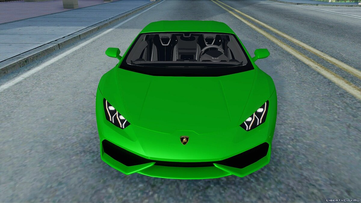 Lamborghini car Lamborghini Huracan for GTA San Andreas