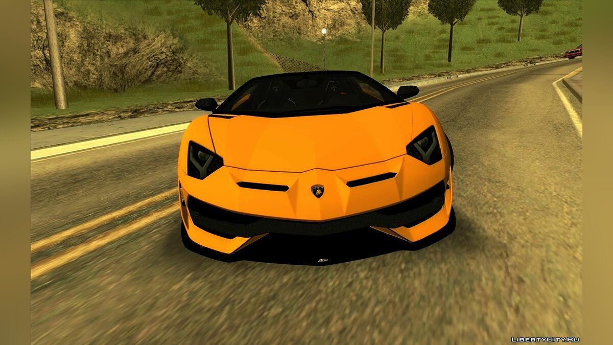 Lamborghini car Lamborghini Aventador SVJ Roadster for GTA San Andreas