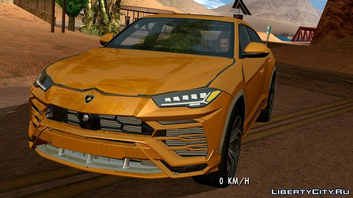 Lamborghini car Lamborghini 2018 Urus for GTA San Andreas