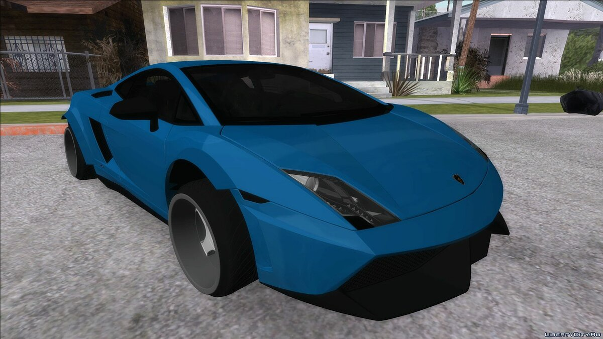 Lamborghini car Lamborghini Gallardo Superleggera 2011 for GTA San Andreas
