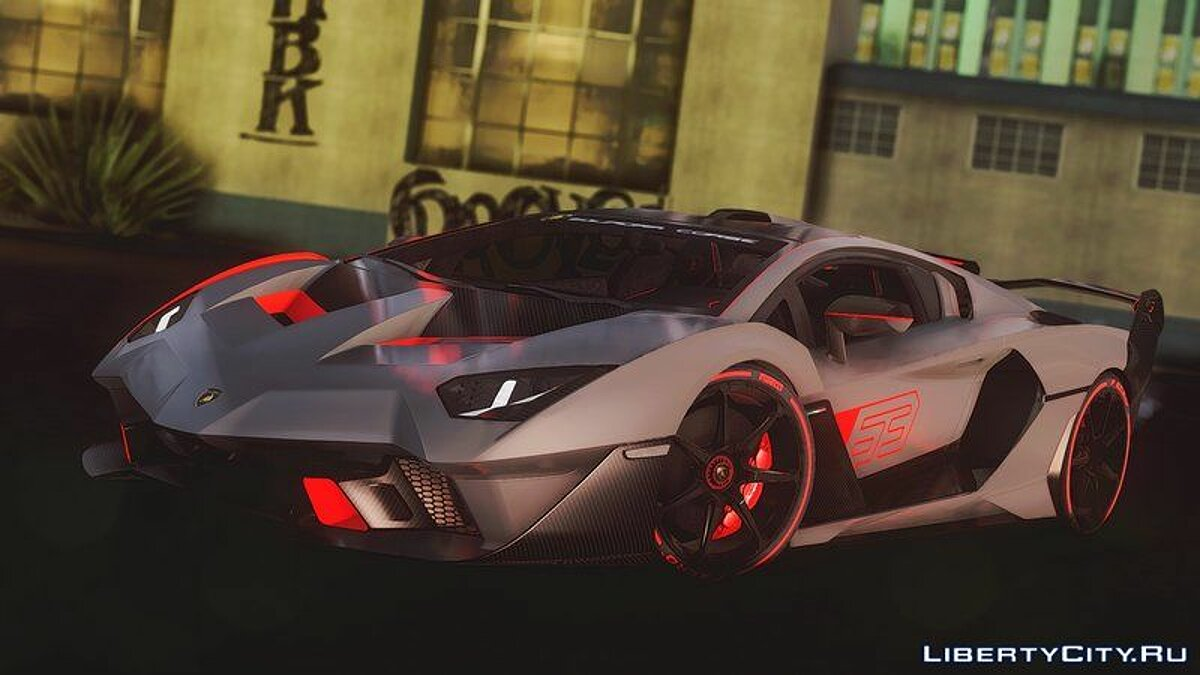 Lamborghini car 2019 Lamborghini SC18 Alston for GTA San Andreas