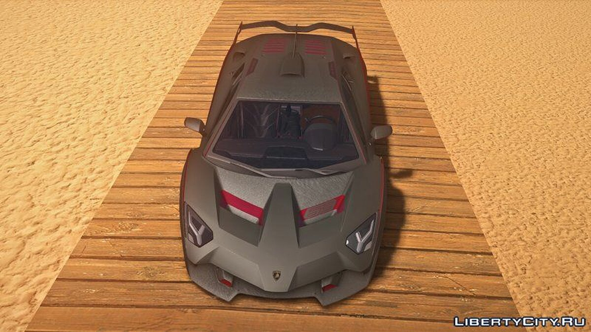 Lamborghini car Lamborghini SC18 Alston '19 for GTA San Andreas