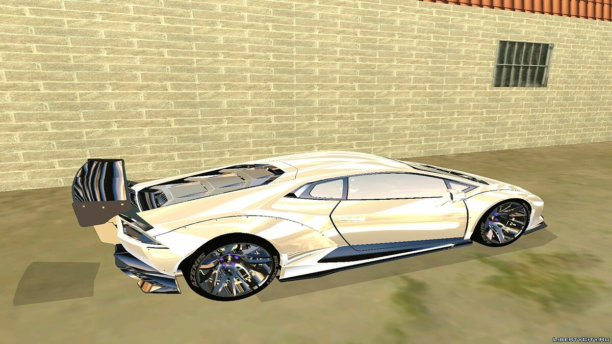Lamborghini car Lamborghini Huracan V2 LibertyWalk for GTA San Andreas