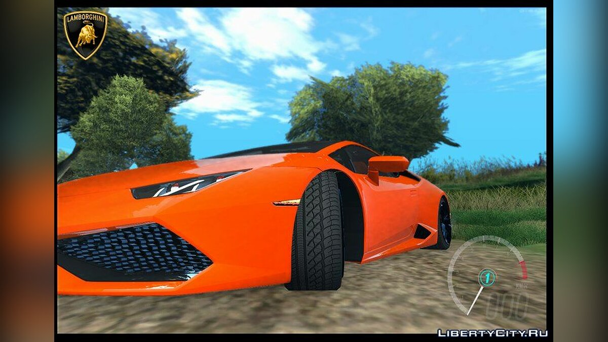 Lamborghini car Lamborghini Huracan LP610 4 for GTA San Andreas