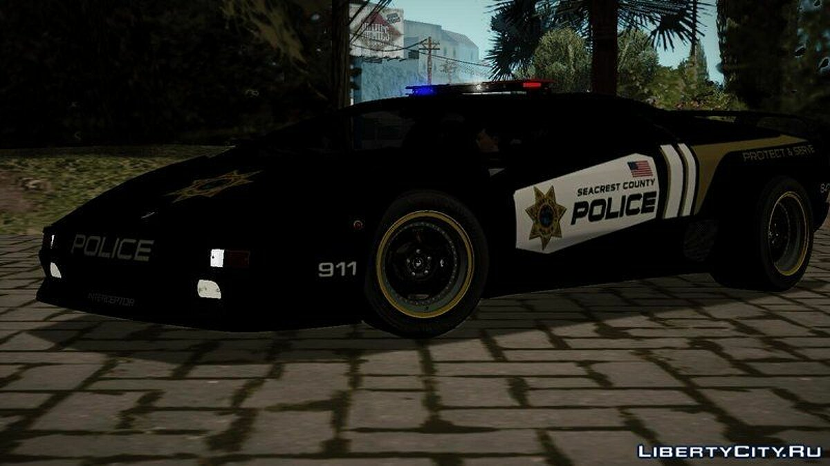 Lamborghini Diablo Sv Police Of Need For Speed Hot Pursuit For