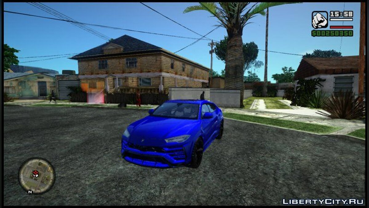 Lamborghini car Lamborghini Urus for GTA San Andreas