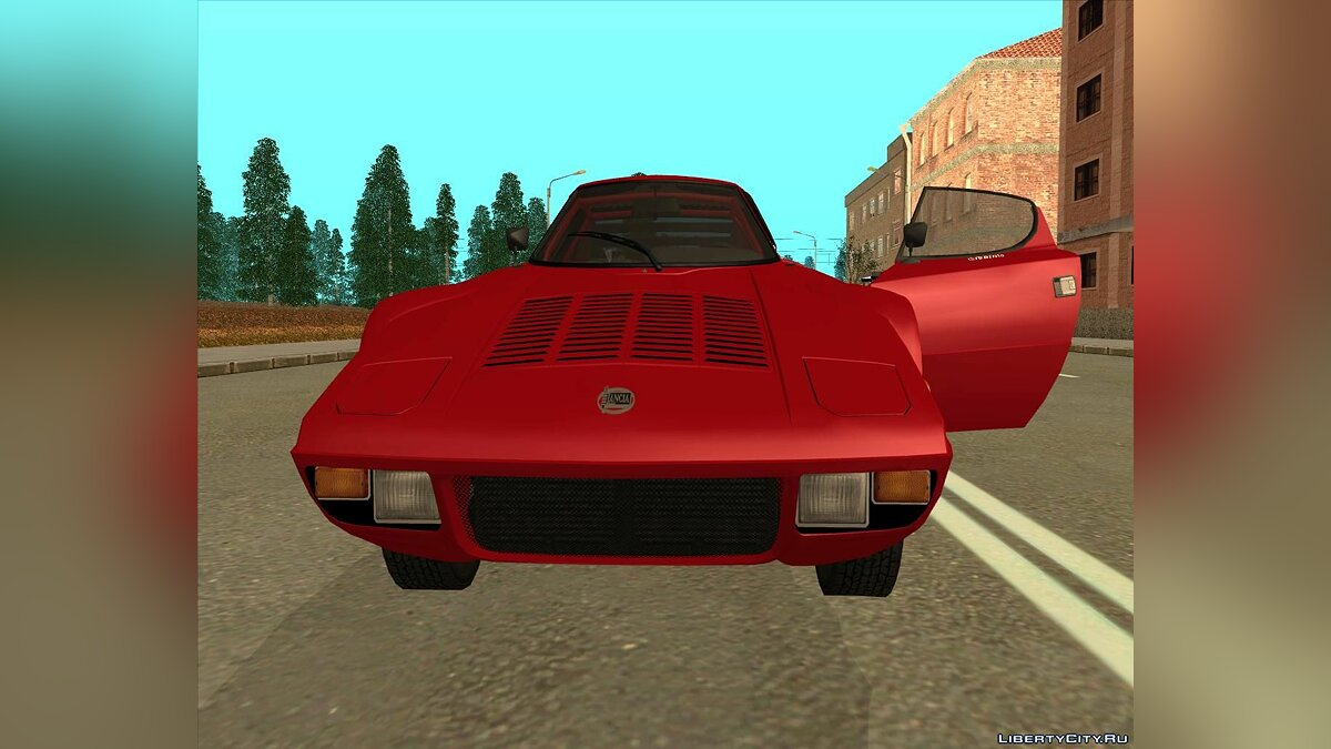 Lancia car Lancia Stratos 1972 for GTA San Andreas