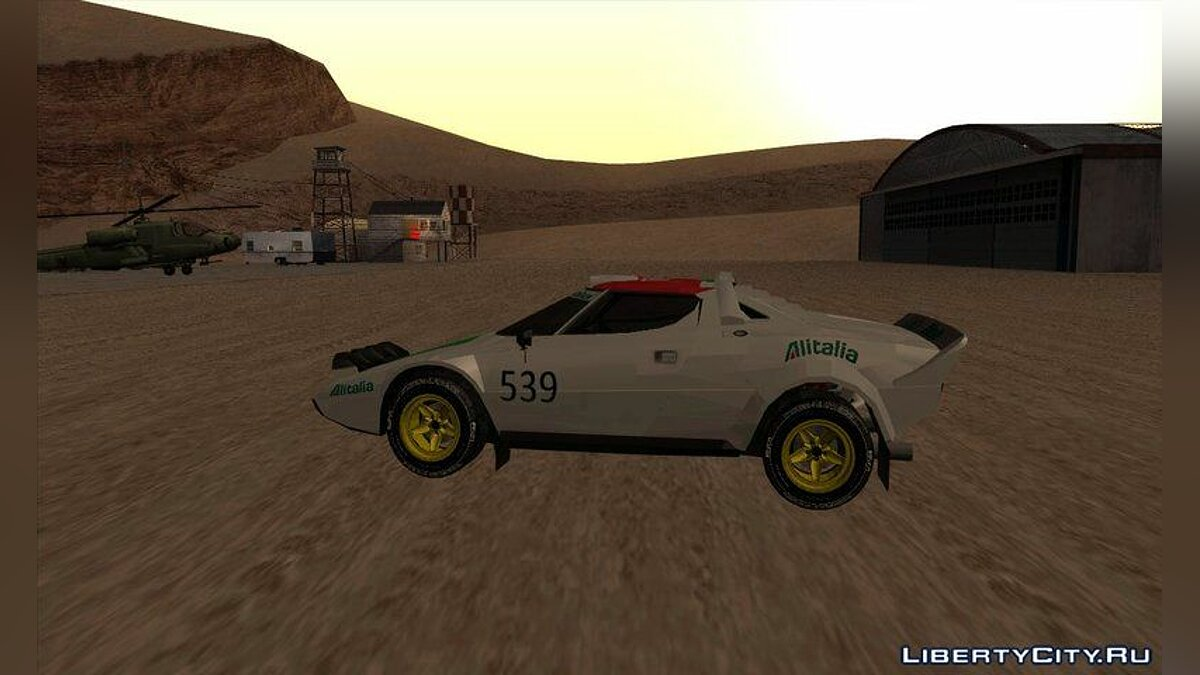 Lancia car Transformers G1 Wheeljack for GTA San Andreas