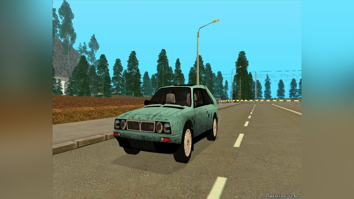 Lancia car Lancia Delta S4 Stradale (SE038) for GTA San Andreas
