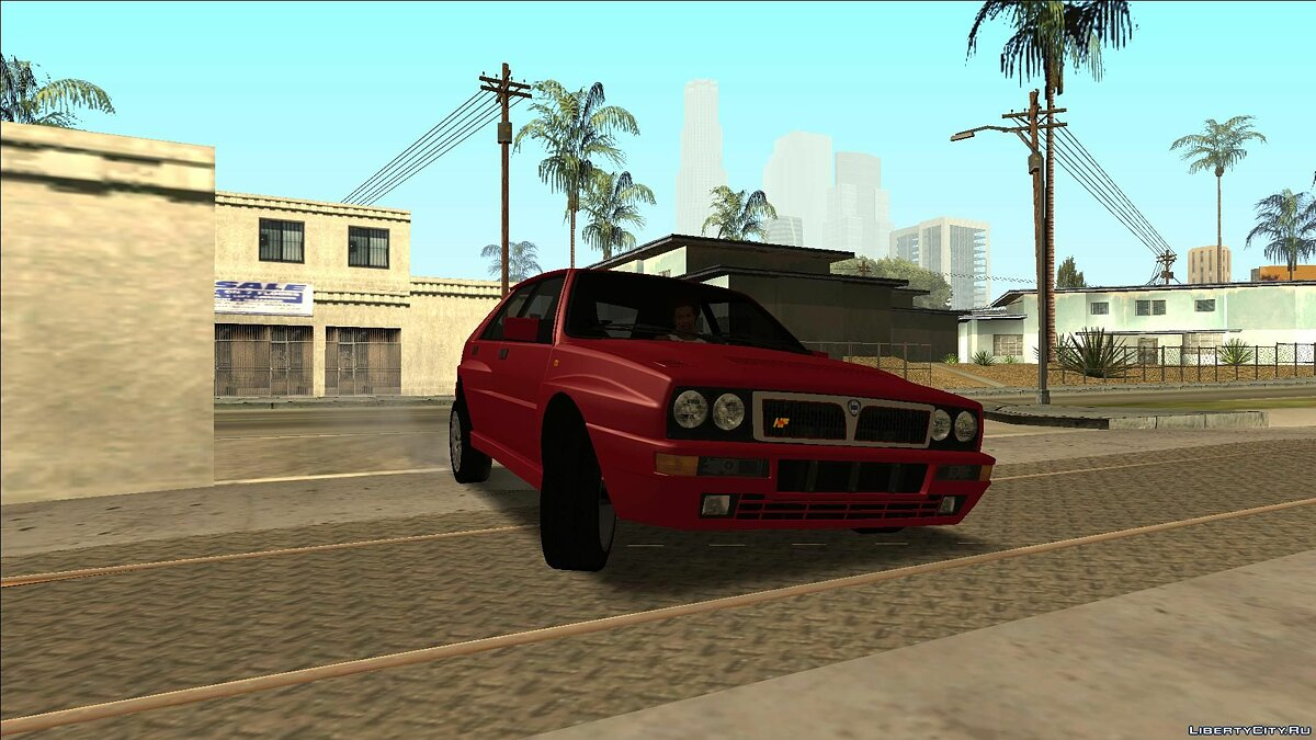 Lancia car Lancia Delta HF Integrale Evoluzione II for GTA San Andreas