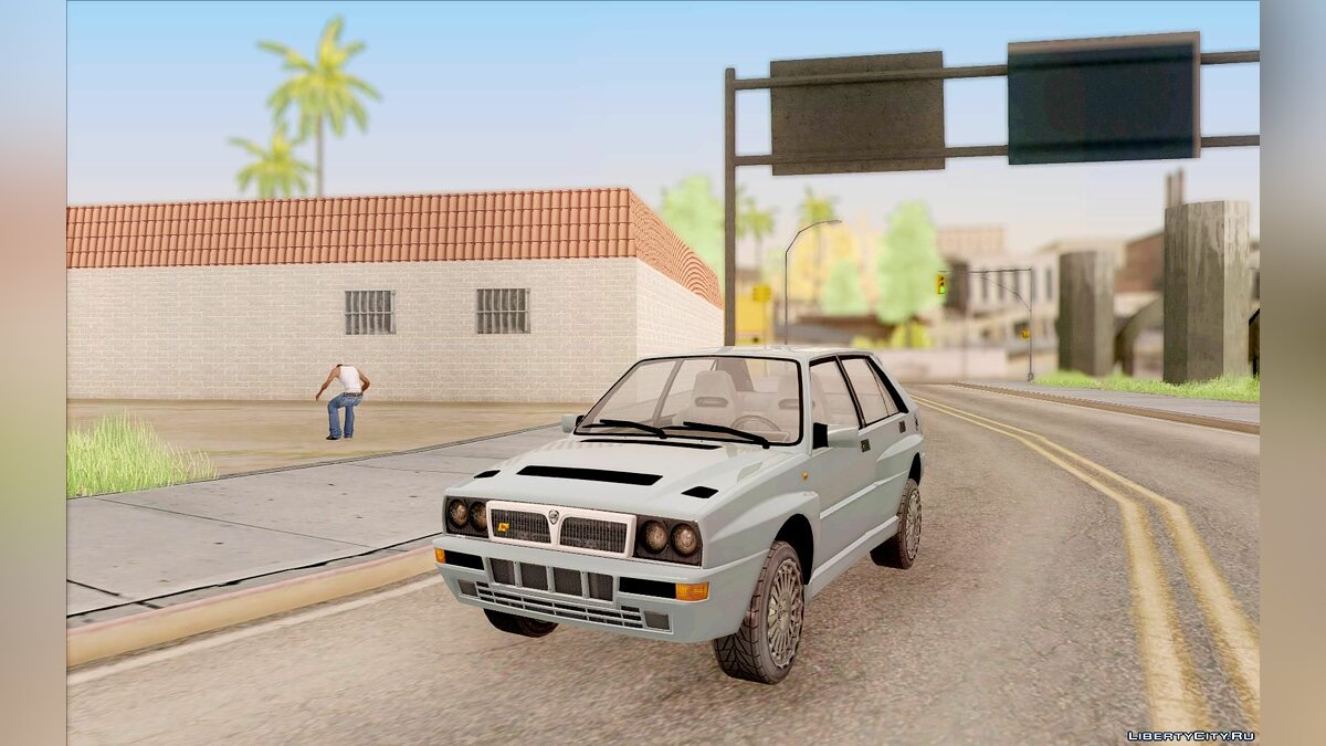 Lancia car Lancia Delta Integrale for GTA San Andreas