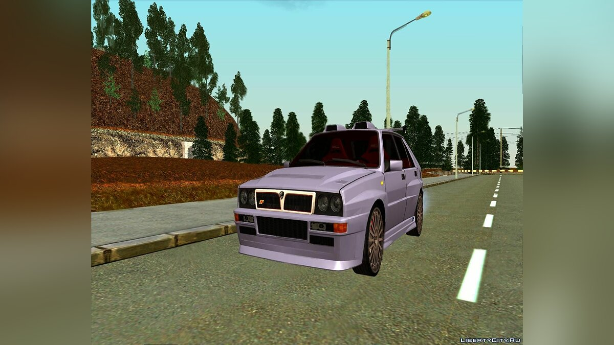 Lancia car Lancia Delta Sparco for GTA San Andreas