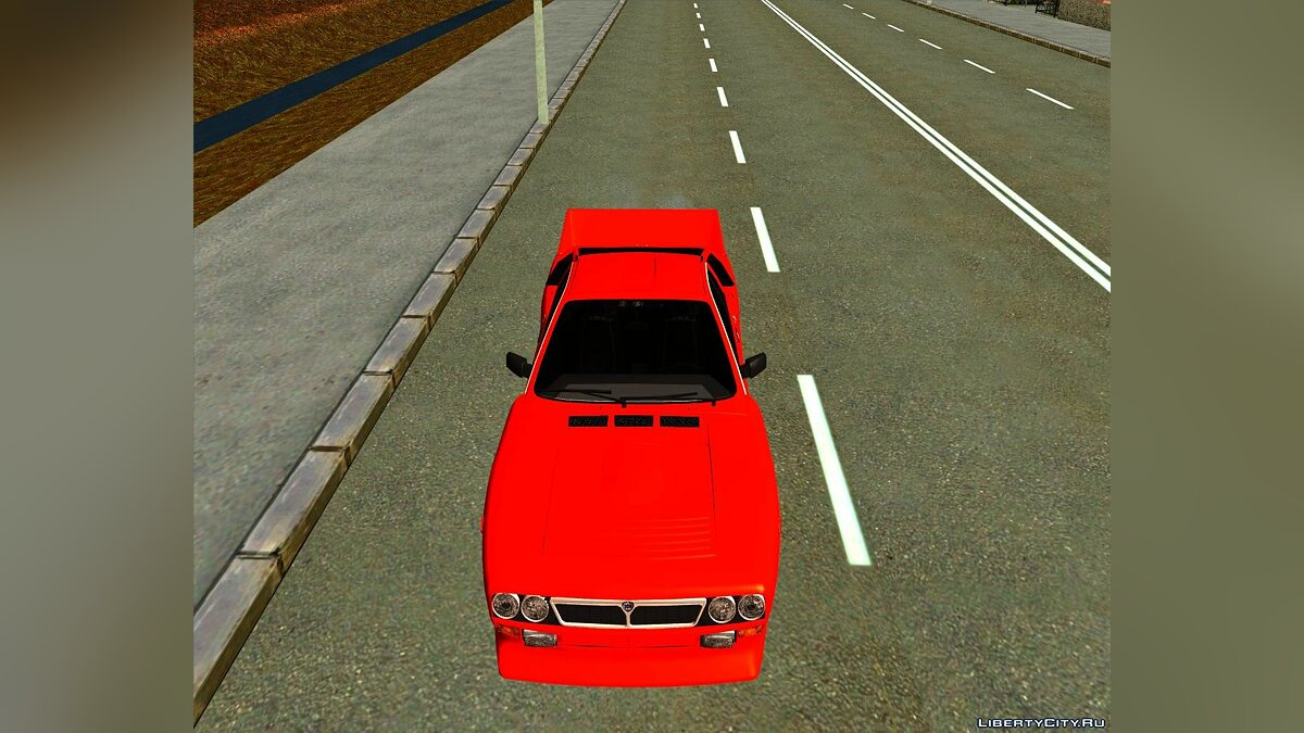Lancia car Lancia 037 Stradale for GTA San Andreas