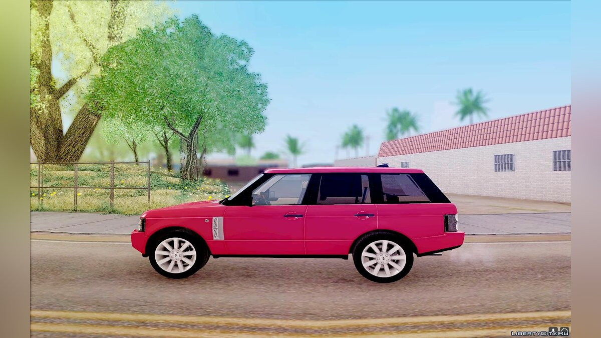 Land Rover car Range Rover Supercharged for GTA San Andreas