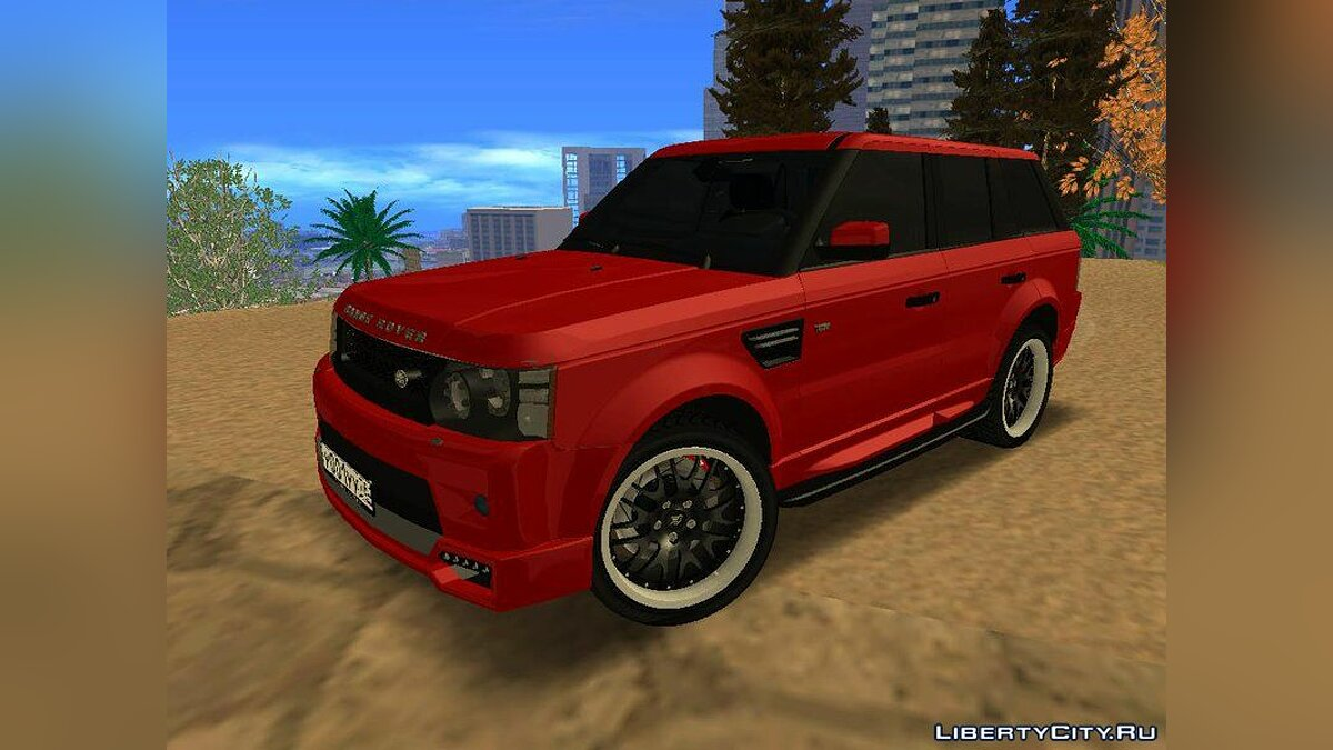 Land Rover car Range Rover Sport Tuning for GTA San Andreas