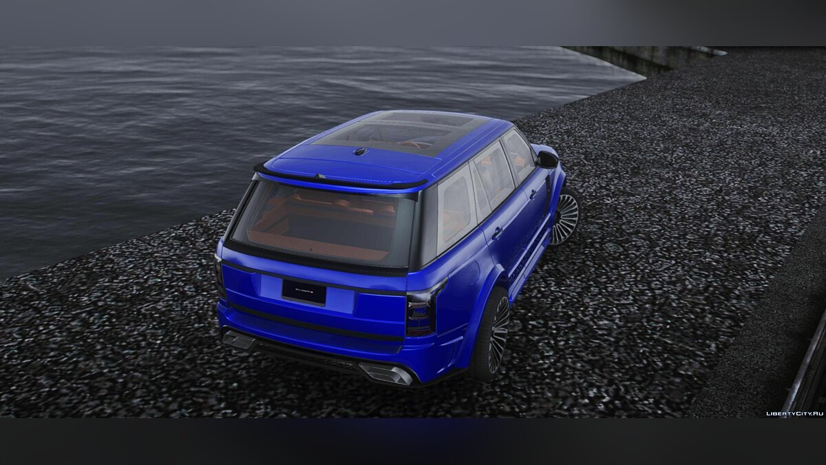 Land Rover car Mansory Range Rover Autobiography LWB for GTA San Andreas