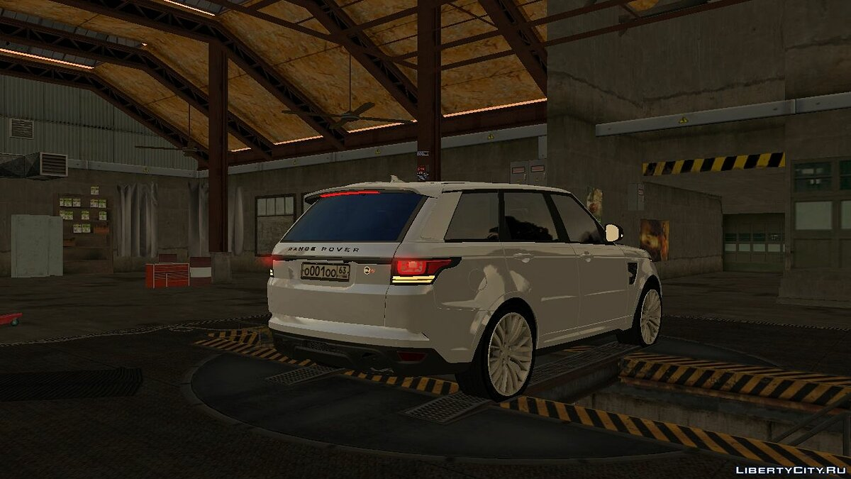 Land Rover car Range-Rover SVR with tuning for GTA San Andreas